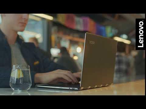 Lenovo - IDP YOGA 920 14F i5 8250 8/256n GRÁ W10-Myndband