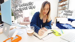 10 Working From Home / Online School Tips that ACTUALLY Work!
