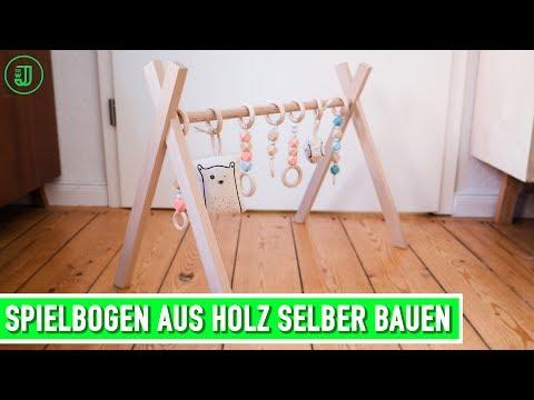Spielbogen selber bauen: DIY fürs Baby | Jonas Winkler