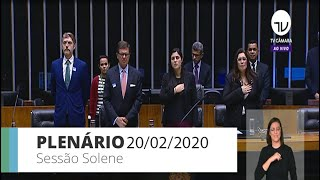 Plenário - Homenagem ao Dia do Imigrante Italiano no Brasil - 20/02/2020 09:00