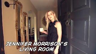 Once Upon a Time, Дженнифер Моррисон проводит экскурсию по своему дому в Лос-Анджелесе