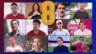 The world of sport pays tribute to Andrés Iniesta - Video Youtube