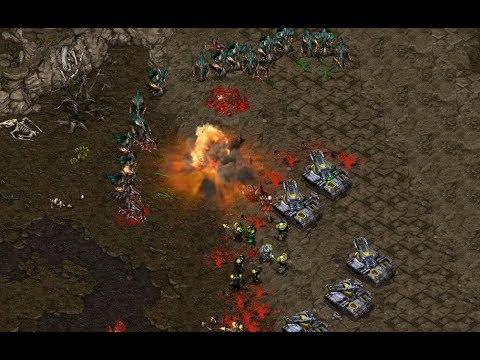 InControl (Z) v Morrow (T) on Heartbreak Ridge - StarCraft  - Brood War REMASTERED