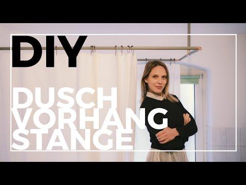 DIY Duschvorhangstange | Edel und günstig!