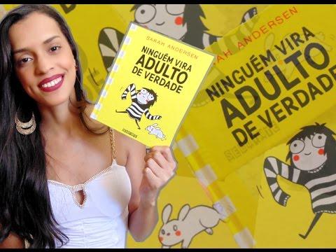 NINGUÉM VIRA ADULTO DE VERDADE, de Sarah Andersen