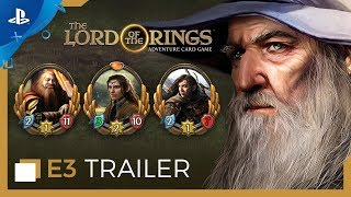 The Lord of the Rings: Adventure Card Game - E3 2019 Trailer | PS4