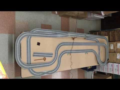 105pc Vintage Tyco 440 X2 Turbo Train Ho Slot Car Race Set
