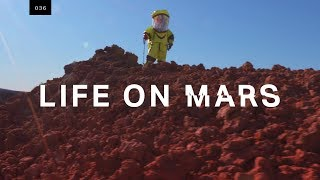 Training for Mars on an active volcano