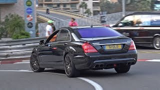 BRABUS B63 V8 Mercedes-Benz S63 AMG in Monaco!