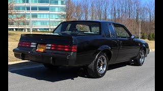 1987 Buick Grand National w/ 14,000 Original miles for sale with walk through video