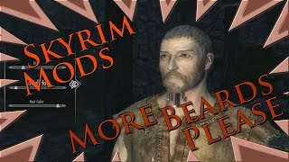 MOD : Skyrim - More Beards Please