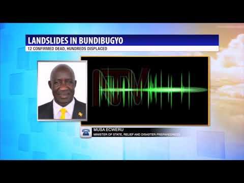 At least 12 dead after Bundibugyo landslides