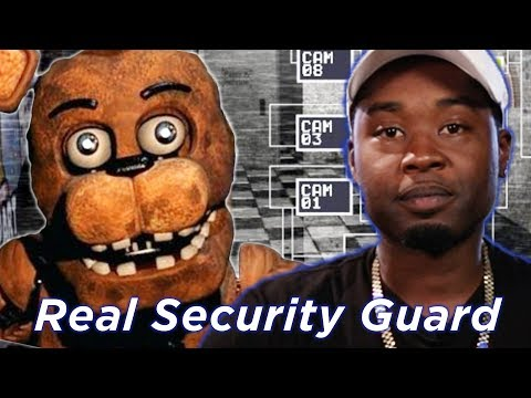 Real Security Guard Tries Surviving