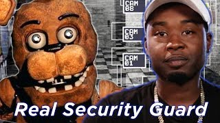 "Real Security Guard Tries Surviving ""Five Nights At Freddy"