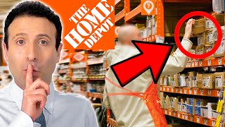 10 SHOPPING SECRETS Home Depot Doesn't Want You to Know!