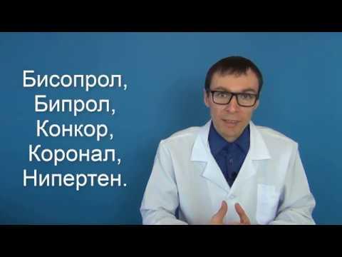 Таблетки при гипертония