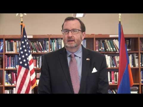 ԱՄՆ դեսպան Ռիչարդ Միլսի շնորհավորական տեսաուղերձը Հայաստանի՝ ԱՃԹՆ թեկնածու երկիր դառնալու կապակցությամբ