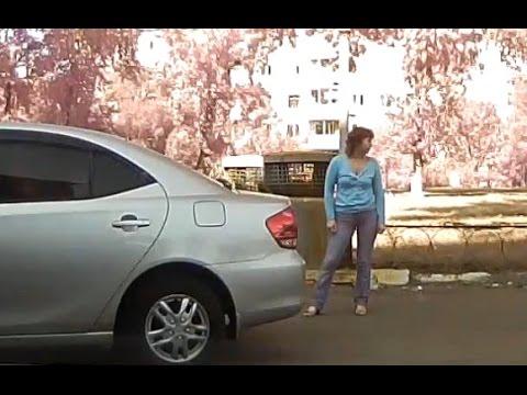 Баба за рулем - страшное дело