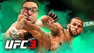 EA SPORTS UFC 3 #16 | VOLTEI MAIS MONSTRO - RIVAL ALISTAIR OVEREEM