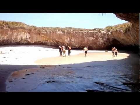 Hidden Beach Marieta Islands Puerto Vallarta Playa Escondida En Islas Marietas
