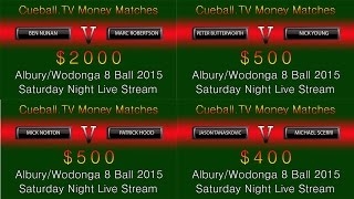 preview picture of video 'Albury/Wodonga 8 Ball 2015 Sat night money matches'