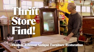 Repairing a Thrift Store Mirror