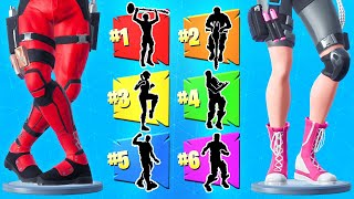 MATCH the EMOTE For LOOT (Fortnite)