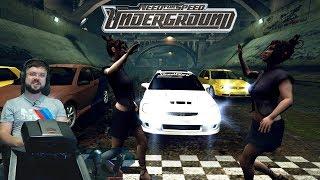 Забористые уличные гонки на Honda Civic в Need for Speed: Underground