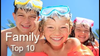 Top Ten Family Vacations, By Donna Salerno Travel