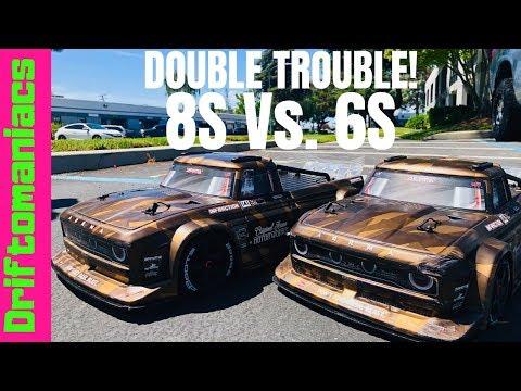 Driftomaniacs RC Blog: Traxxas Rustler 4x4 VXL GTR Shock Upgrade