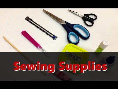 A Closer Look at Sewing Supplies