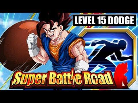 70% Chance AND Level 15 Dodge! Candy Vegito Super Battle Road Test | DBZ Dokkan Battle