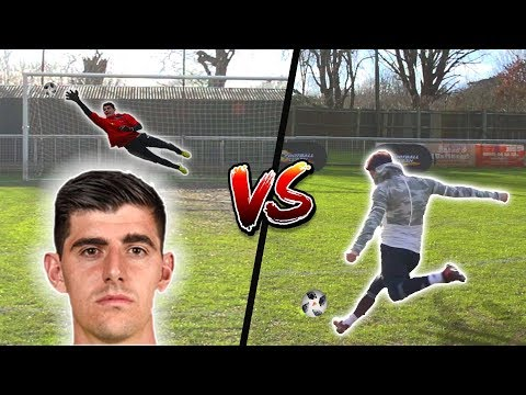 F2 SHOOTING VS COURTOIS!!! 💥⚽️🥅 онлайн видео