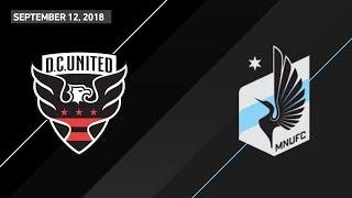 HIGHLIGHTS: D.C. United vs. Minnesota United FC | September 12, 2018