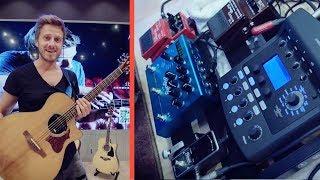 My Best Sounding Acoustic Guitar Pedalboard [TRAVEL Board Setup 🎸]