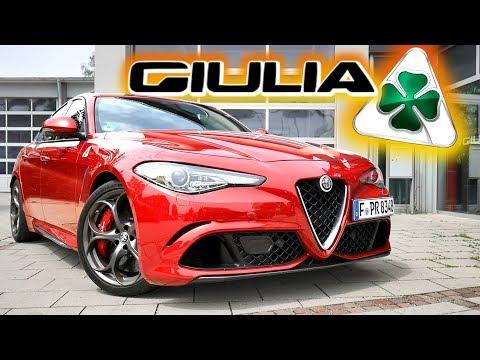 Sie ist wunderschön, aber ein BIEST! Alfa Romeo Giulia Quadrifoglio | Fahr doch