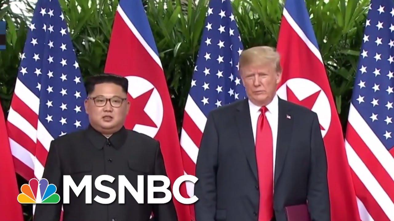 President Donald Trump And Kim Jong Un Part Ways | The Last Word | MSNBC thumbnail