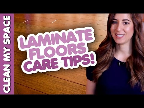 Laminate Floor Cleaning & Care Tips!