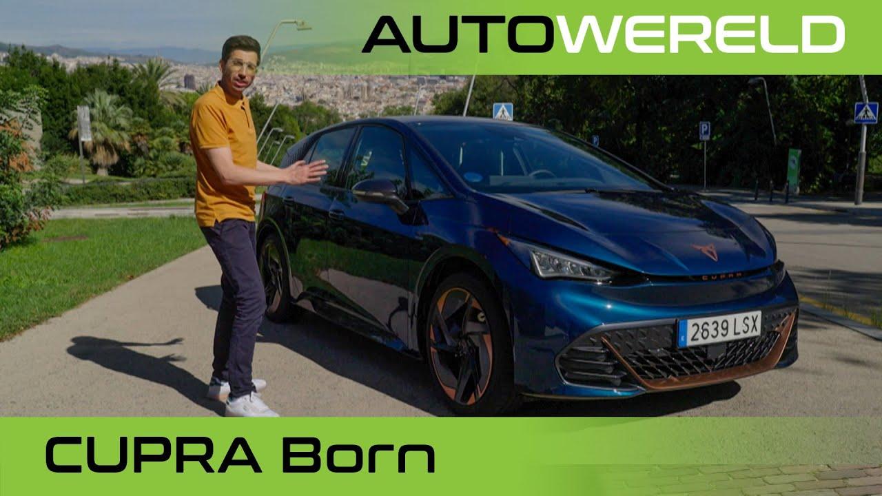 Elektrische CUPRA Born (2022) review met Andreas Pol