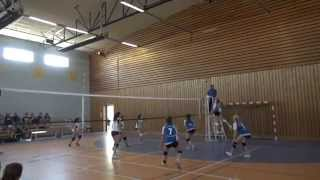preview picture of video 'Championnat Inter Academique UNSS Volleyball, demi-finale - Ferney-Voltaire'