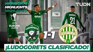 Highlights | Ludogorets 1 - 1 Ferencváros | Europa League - J 6 - Grupo H | TUDN