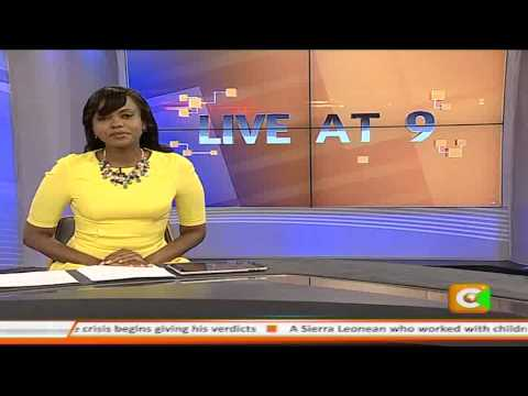 Live at 9 News 26th Feb 2015
