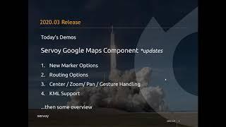 Servoy 2020.03 Release Webinar Part 3 - Google Maps Component Update