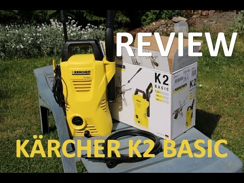 Kärcher K2 Basic - REVIEW (english subs)