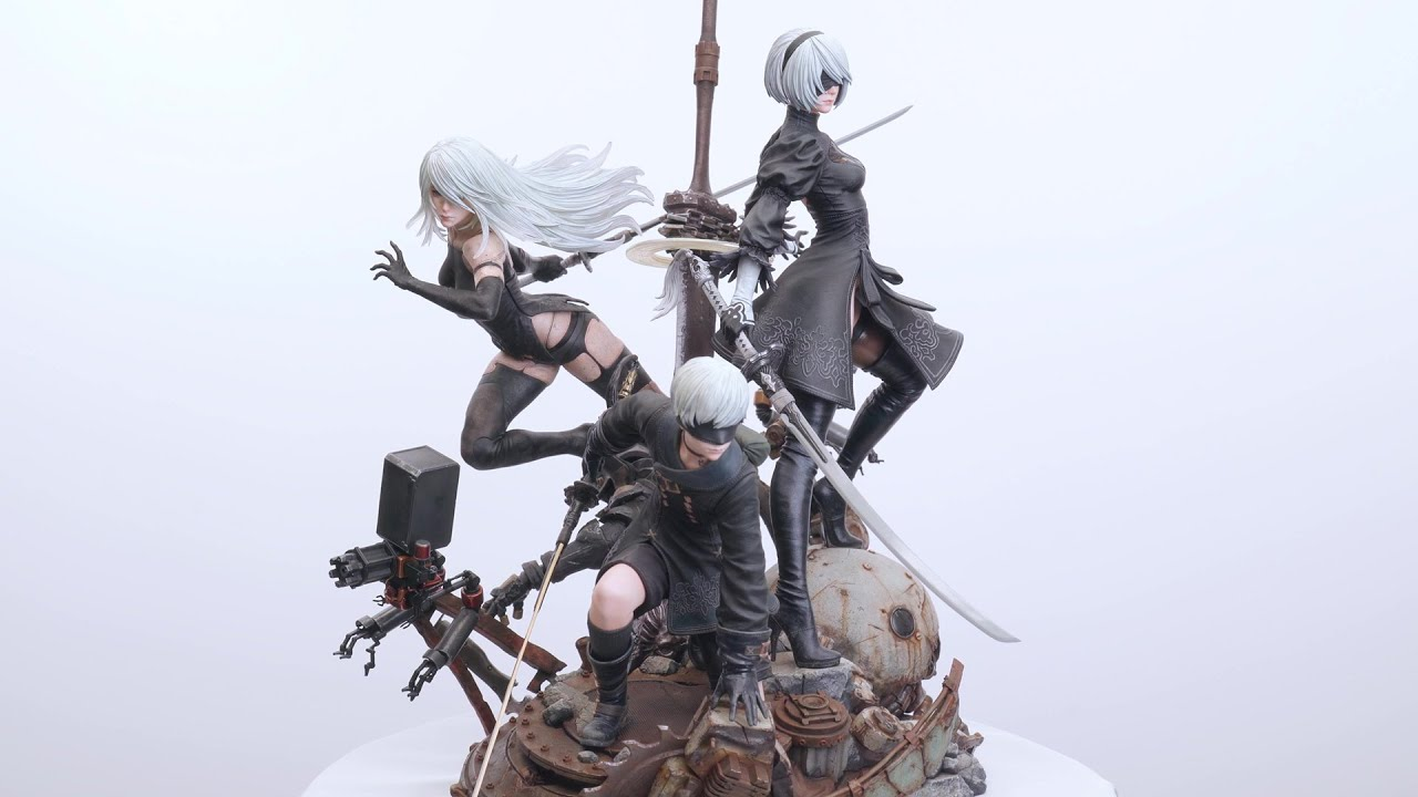 Video SQUARE ENIX MASTERLINE NieR:Automata 1/4scale [Statue]