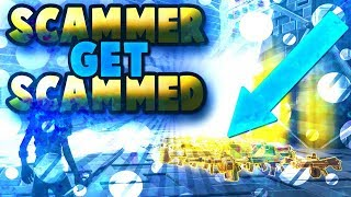RETARDED Scammer gets all guns taken in fortnite save the world pve - Video Youtube
