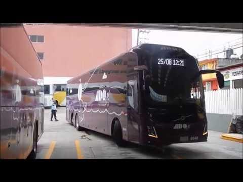 La ultima salida del Volvo 9800 de ADO gl. (La leyenda capturada en vídeo)