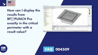 FAQ 004509 | How can I display the results from RF‑PUNCH Pro exactly in the critical perimeter with a result value?