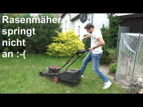 Rasenmäher springt nicht an Rasenmäher startet nicht Hier gibt es Hilfe was machen