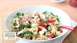 Antipasta Pasta Salad – Everyday Food with Sarah Carey